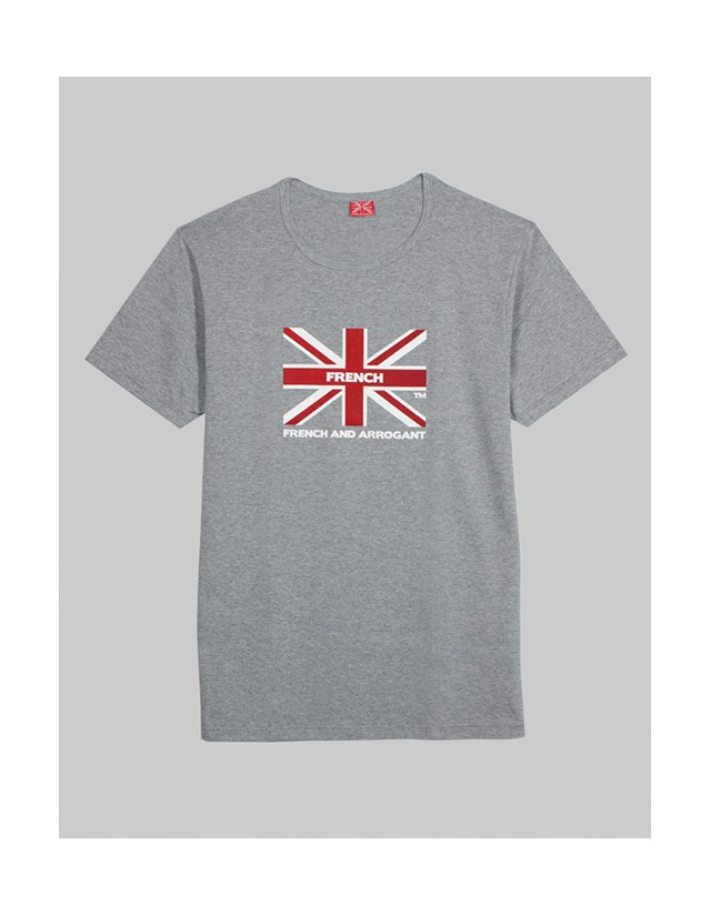 T-SHIRT GB GRIS CHINE