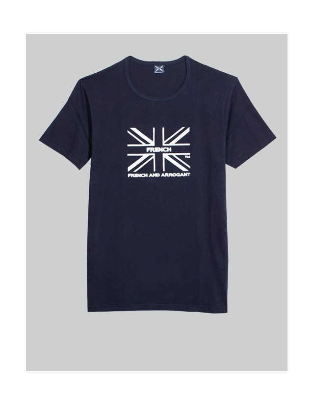 T-SHIRT GB BLEU MARINE