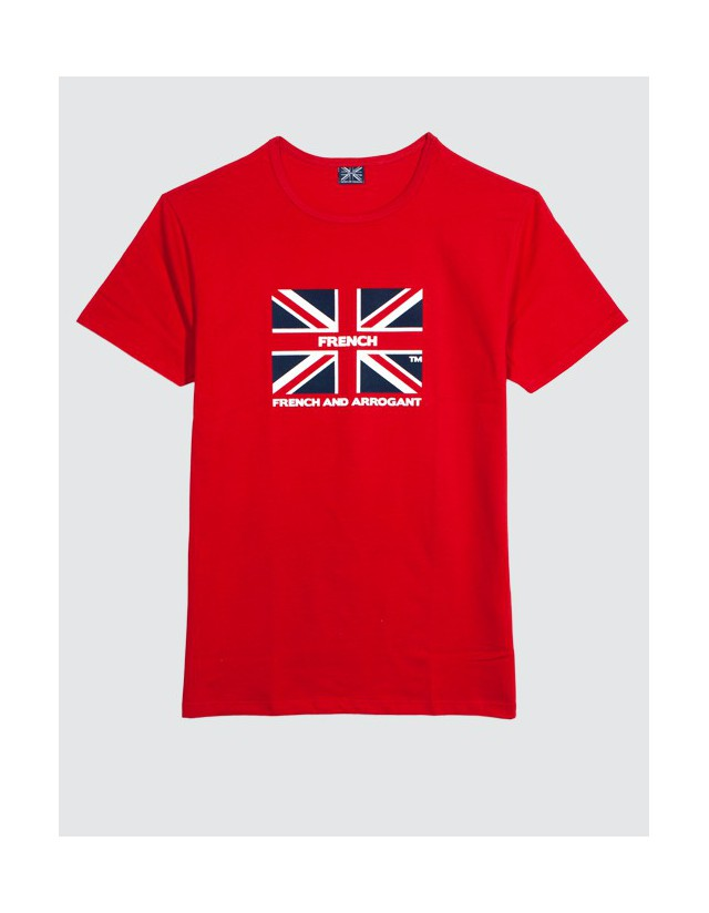 T-SHIRT GB ROUGE