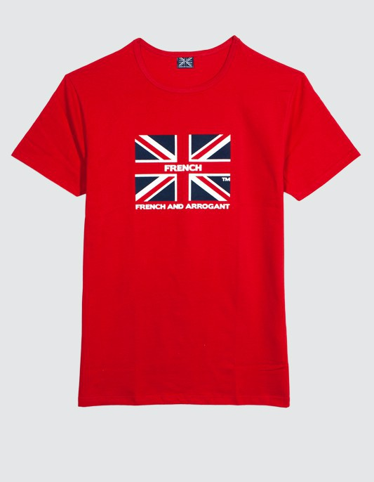 TEE SHIRT GB ROUGE